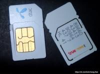 Сим-карты для мобильной связи в Таиланде и на Чанге